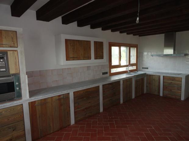 Cocina para una casa de campo en Segovia