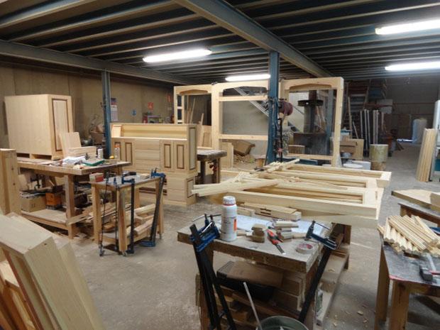 Muebles de la Granja por dentro