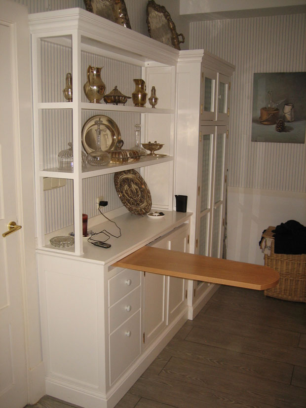 Mueble para cuarto de planchado