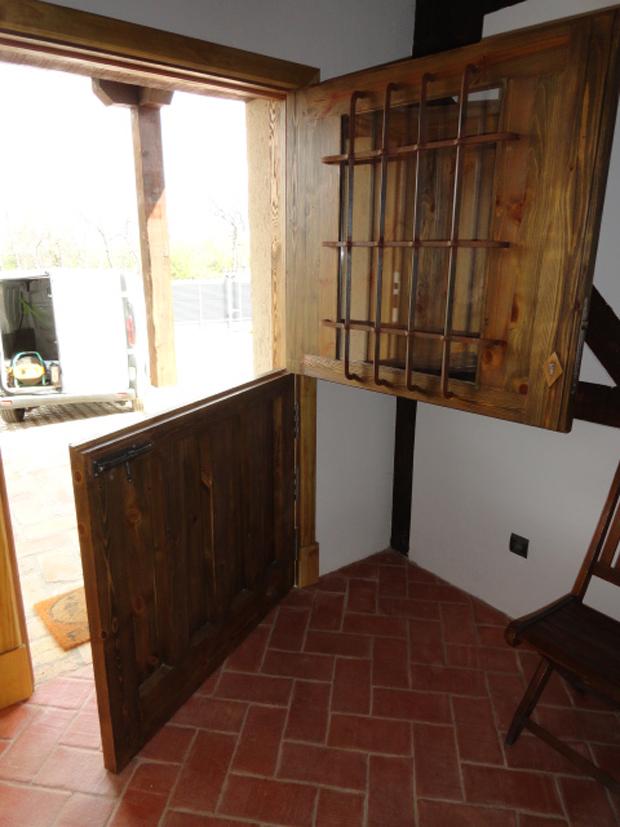 puerta entrada casa de campo I