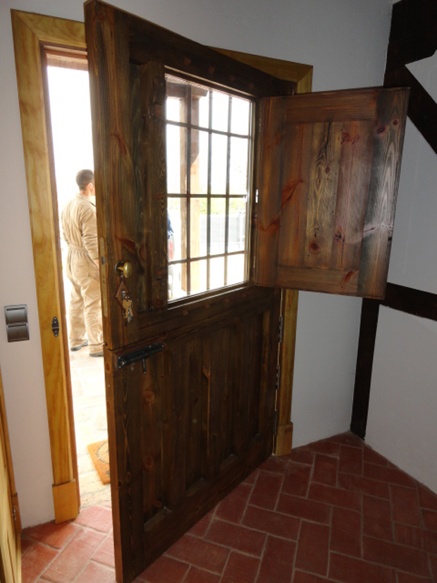 puerta entrada casa de campo II